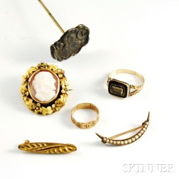 Group of Victorian Jewelry and Accessories