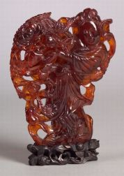 Natural Amber Carving