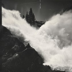 Ansel Adams (American, 1902-1984)      Waterwheel Falls, Yosemite National Park, California