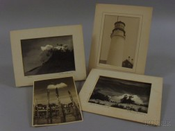 John Worthington Gregory (American, 1903-1992)      Lot of Four Cape Cod Views, including Dune