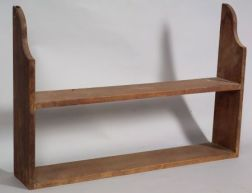 Poplar Wall Shelf
