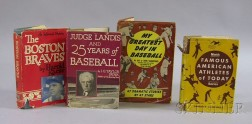 Four Baseball and Sports Related Books