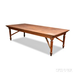 Large Country Oak Table