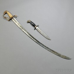 Eagle-pommel Sword and Dagger