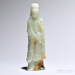 Jade Carving of Guanyin
