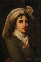 After Elisabeth Louise Vigée Le Brun (French, 1755-1842)      Copy of the Self Portrait, 1789-90, for the Academy of St. Luke in Rome