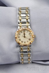 """Lady's Stainless Steel and 18kt Gold """"Saratoga"""" Wristwatch, Concord"""