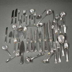 Towle Lady Mary   Pattern Sterling Silver Flatware Service