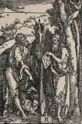Albrecht Dürer (German, 1471-1528)      St. John the Baptist and St. Onuphrius
