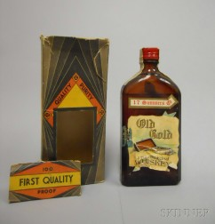 Old Gold Pure Medicinal Whiskey