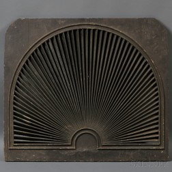 Federal Painted Architectural Fan Light