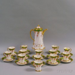Dresden Porcelain Coffee Service