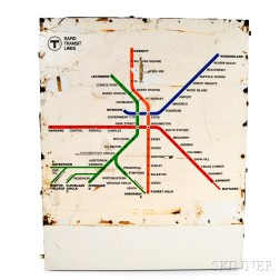 MBTA Rapid Transit Map