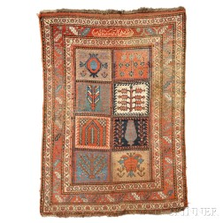 Kurd Compartment Rug