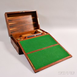 Mahogany Game and Desk Box
