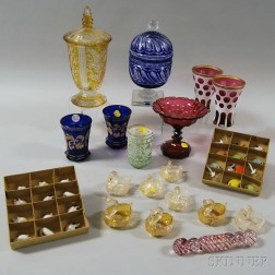 Group of Assorted Glass
