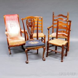 Five Miscellaneous Chairs