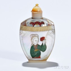 Mother-of-pearl Snuff Bottle