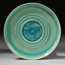 Early Jade Snow Wong (1922-2006) Plate