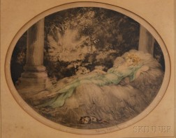 Louis Icart (French, 1888-1950)      Dreamer