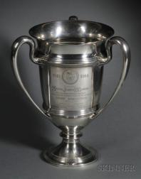 Whiting Manufacturing Co. Sterling Presentation Loving Cup