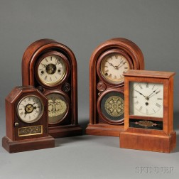 Four Connecticut Shelf Clocks