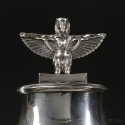 Ball, Black & Co. Egyptian Revival Sterling Silver Covered Tureen