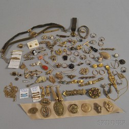 Large Group of Victorian Jewelry