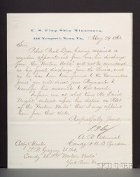 (Civil War, Union Navy), Archive of Commander Samuel Gregory
