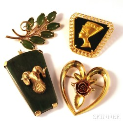 Four Assorted Jewelry Items