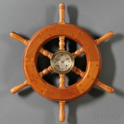 """Chelsea """"Helm's Mate"""" Style Clock"""