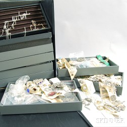 Extensive Collection of Silver Jewelry