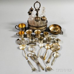 Group of Mostly Sterling Silver Tableware