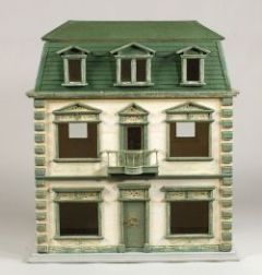 French Painted Doll House