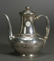 American Sterling Silver Coffeepot