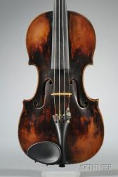 German Violin, Possibly Leopold Widhalm, Nuremburg, 1775