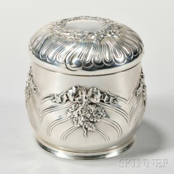 Tiffany & Co. Sterling Silver Tea Canister