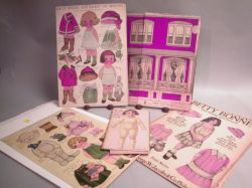 Group of Paper Doll Covers