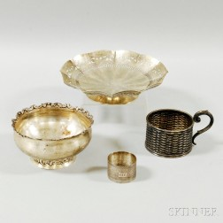 Group of Assorted Silver Tableware