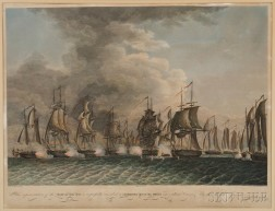 Murray Draper Fairman & Co. and James Webster, publishers (Philadelphia, 1815) The Battle on Lake Erie...Fought Sept. 10, 1813-First Vi
