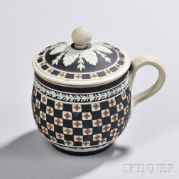Wedgwood Tricolor Jasper Dip Diceware Cup and Cover