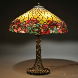 Duffner and Kimberly Co. Oriental Poppy Table Lamp