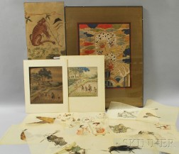 Group of Asian Paintings and Prints