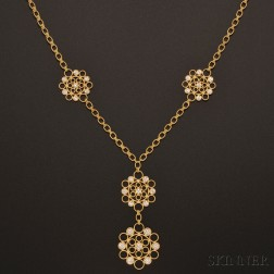 "18kt Gold and Diamond ""Maria"" Necklace, Buccellati"