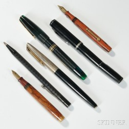 Waterman One Hundred Year Pen and Five Others