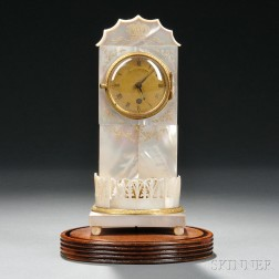 Viennese Mother-of-pearl Clock