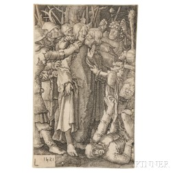 Lucas van Leyden (Dutch, 1494-1533)      Two Images from THE PASSION
