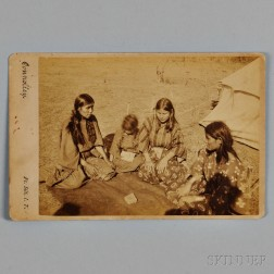 Connolly Photograph of Kiowa or Comanche Women