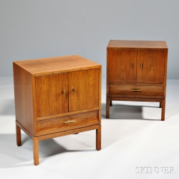 Two Dunbar Side Tables