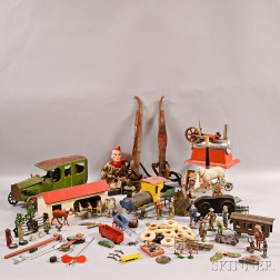 Group of Assorted Toys and Accessories.     Estimate $300-500